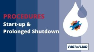 Start-up / Prolonged shutdown procedures for dispensers