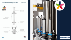 Explanatory drawing of Harbil 300 ml piston pump