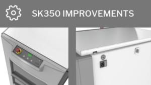 SK350 improvements