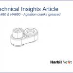 HA480 & HA680: agitation cranks greased